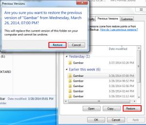 Mengembalikan File Yang Terhapus Tanpa Software