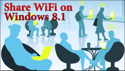 Share Wifi Windows 8