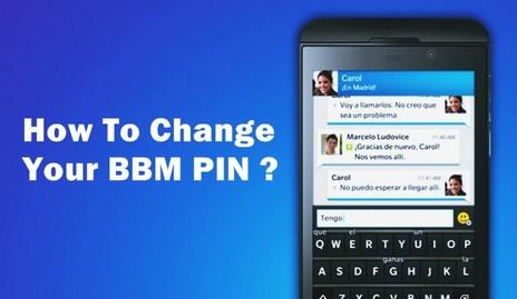 Cara Mengubah Pin Bbm Di Bb Dan Android