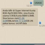 Cara Cek Sisa Kuota Data Internet IM3 Indosat
