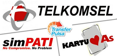 Cara Transfer Pulsa Provider Telkomsel Pada Kartu Simpati dan As