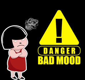 DP BBM bad mood