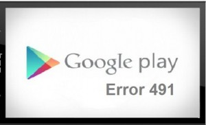 Google Play Store Error