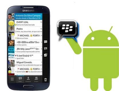 Mengganti Background Bbm Di Android