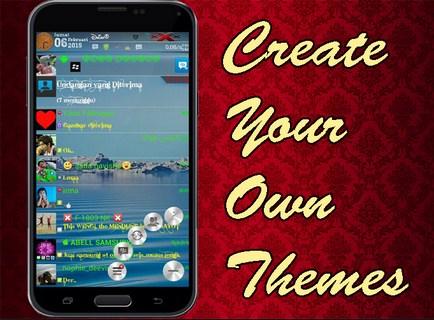 Tema BBM Di Android