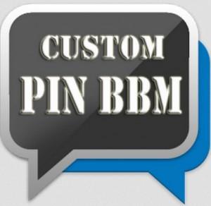 Cara Membuat Custom PIN BBM Sendiri