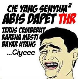 dapet thr