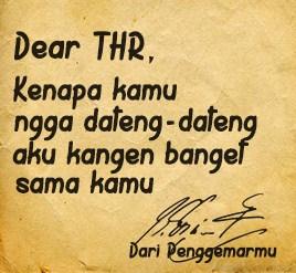 dear thr