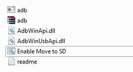 memindahkan aplikasi ke sd card tanpa root